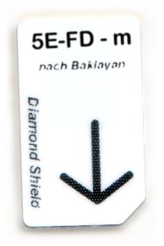 5 Elemente-Feuer-Dämpfung Chipcard nach Baklayan