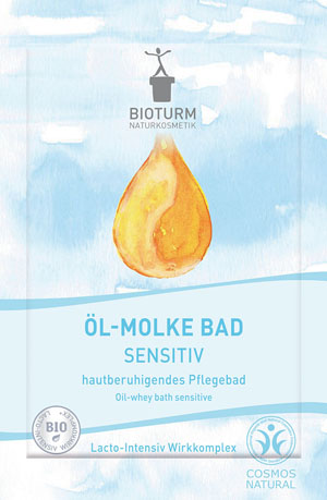 Bioturm Naturkosmetik Öl-Molke Bad Sensitiv