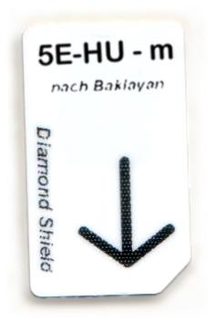 5 Elemente-Holz-Unterstützung Chipcard nach Baklayan