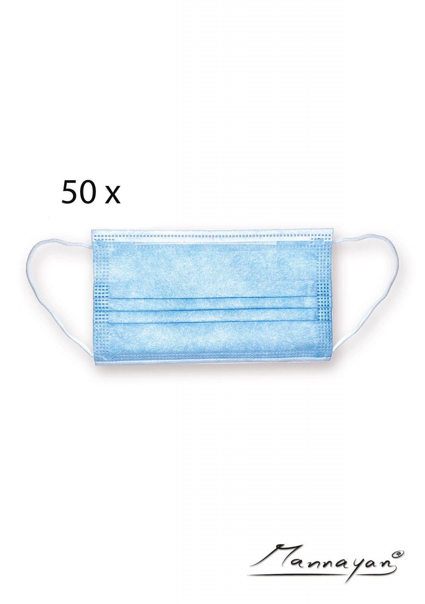 3-layer disposable masks (50 pieces)