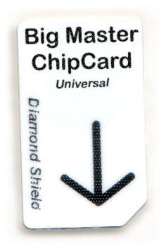 Big Master Chipcard Universal für Diamond Shield Zapper