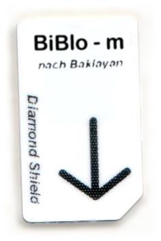 BiBIo - m Chipcard nach Baklayan für Diamond Shield Zapper