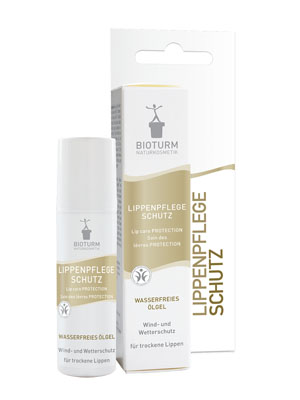 Bioturm Naturkosmetik Lippenpflege Schutz