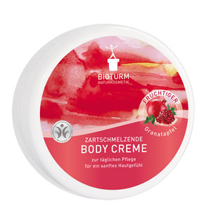 Bioturm Naturkosmetik Body Creme Granatapfel