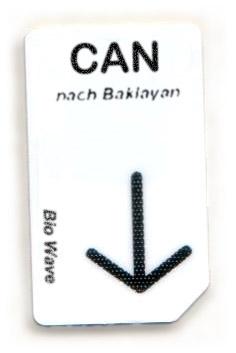 Biowave Chipcard CAN nach Baklayan