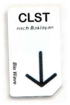 Biowave Chipcard CLST nach Baklayan