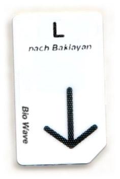 Biowave Chipcard L nach Baklayan