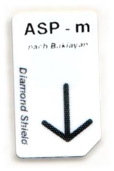 ASP - m Chipcard nach Baklayan für Diamond Shield Zapper