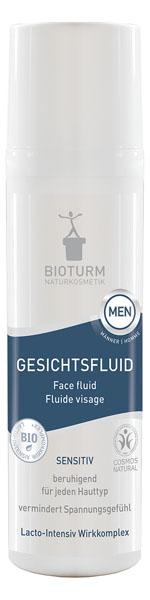 Bioturm Naturkosmetik Gesichtsfluid  für Männer
