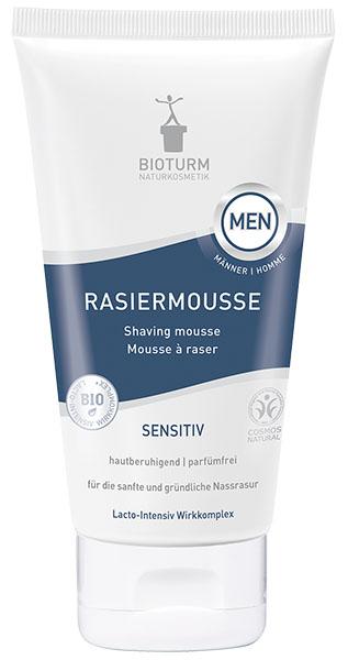 Bioturm Naturkosmetik Rasiermousse für Männer