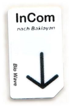 Biowave Chipcard InCom 3,6 HZ nach Baklayan