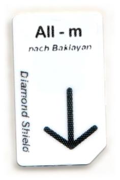All - m Chipcard nach Baklayan für Diamond Shield