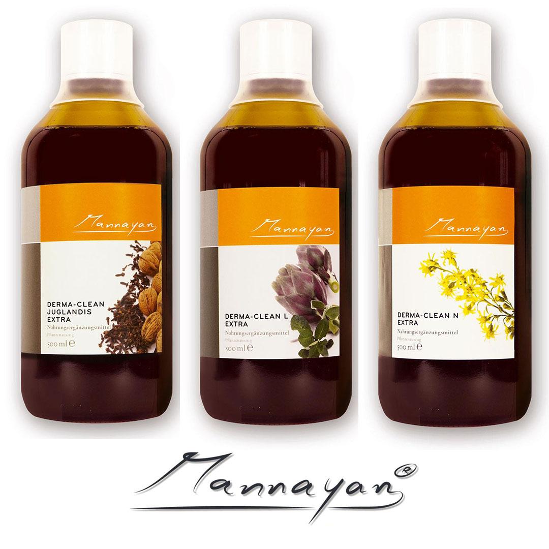 Derma - Clean - Paket von Mannayan