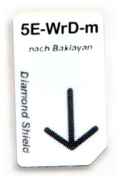 5 Elemente - Wasser-Dämpfung Chipcard nach Baklayan