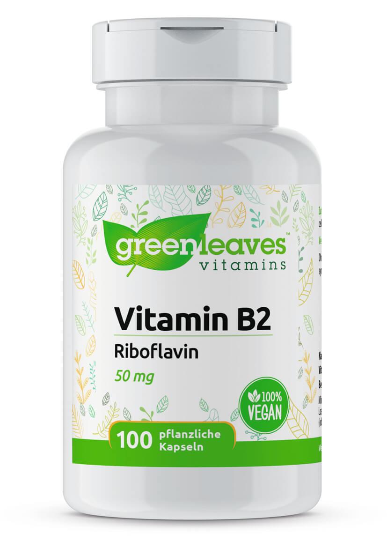 Vitamin B2 Riboflavin von Greenleaves