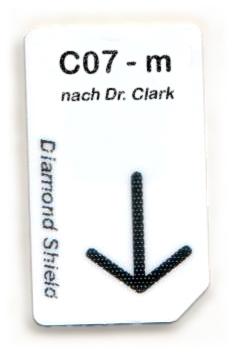 C07 - m Chipcard nach Dr. Clark für Diamond Shield Zapper