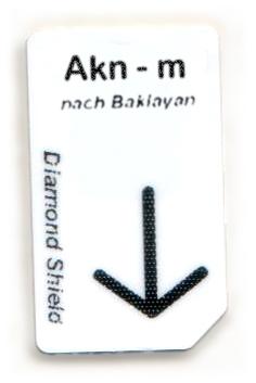 Akn-m Chipcard nach Baklayan für Diamond Shield