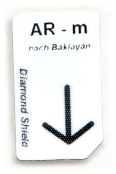 AR - m  Chipcard nach Baklayan für Diamond Shield