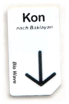 Biowave Chipcard KON nach Baklayan
