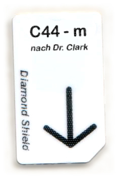 C44 - m Chipcard nach Dr. Clark für Diamond Shield Zapper