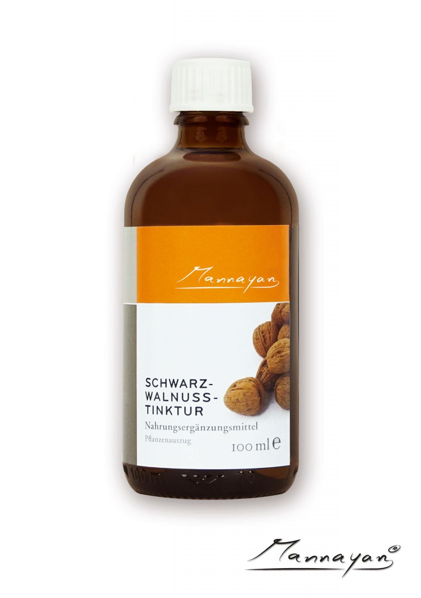 Mannayan Schwarzwalnuss (tincture) (black walnut) 100 ml