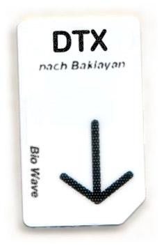 Biowave Chipcard DTX nach Baklayan