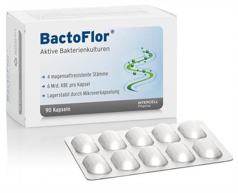 Bactoflor, Probiotisches Nahrungsergänzungsmittel von Intercell