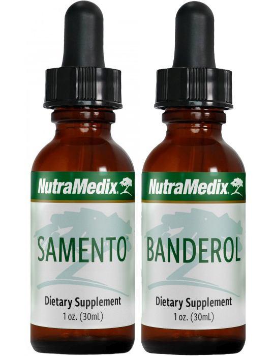 Samento und Banderol klein von NutraMedix