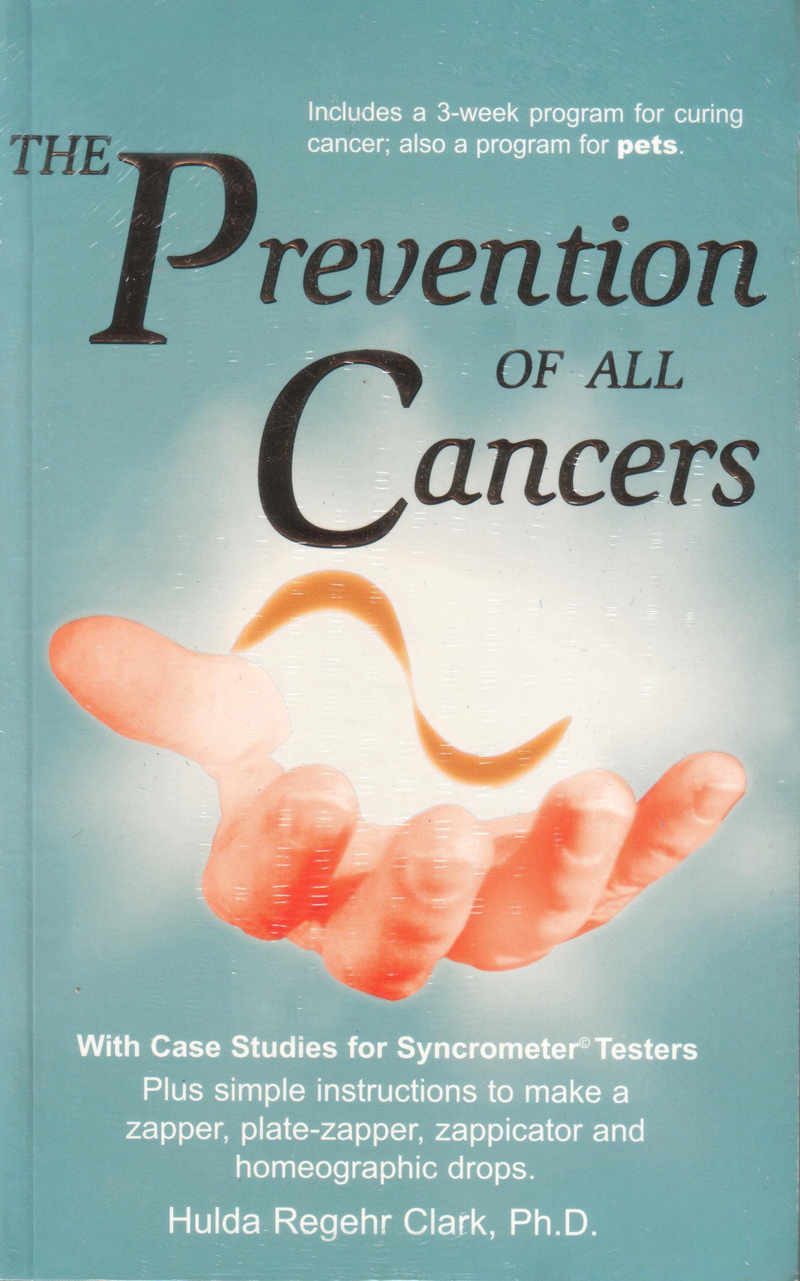 Prevention of all cancers von Hulda Clark auf englisch