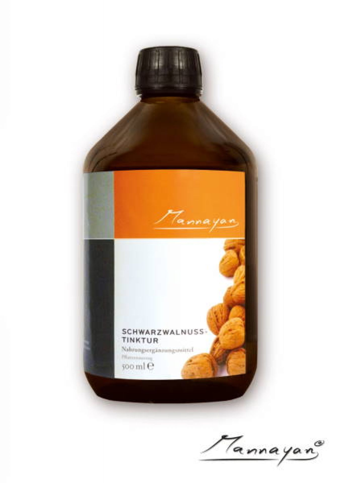 Mannayan Schwarzwalnuss (tincture) (black walnut) 500 ml