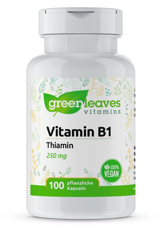 Vitamin B1 Thiamin von Greenleaves