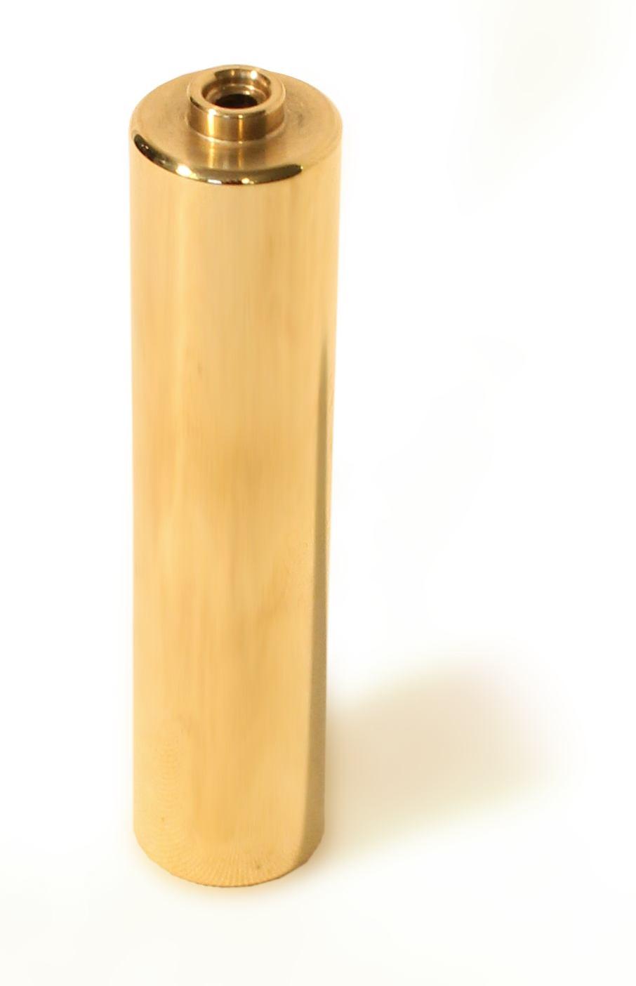 Handelektrode aus Edelstahl, vergoldet für  Diamond Shield Zapper und TRIKOMBIN