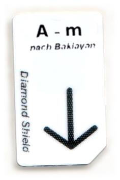 A-m Chipcard nach Baklayan für Diamond Shield