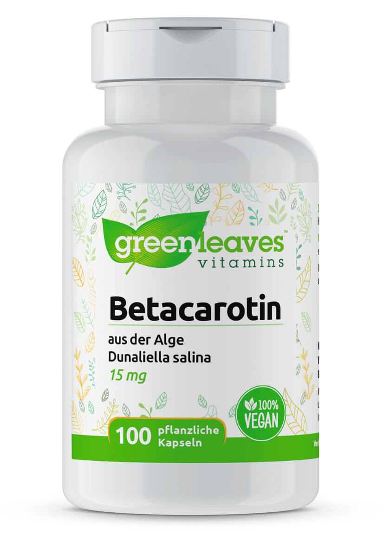 Betacarotin von Greenleaves