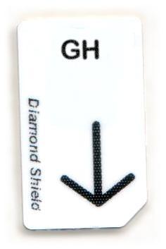 GH Chipcard für Diamond Shield Zapper