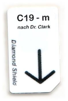 C19 - m Chipcard nach Dr. Clark für Diamond Shield Zapper